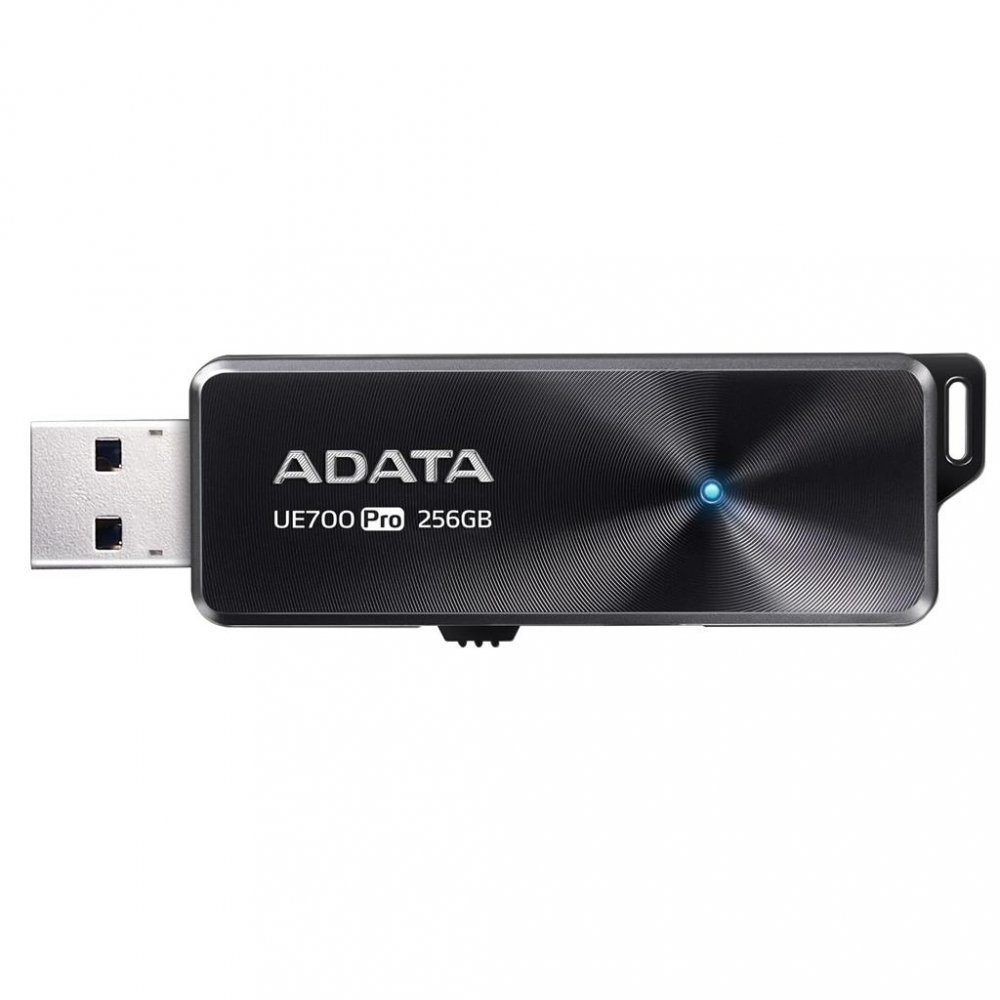 Adata USB 31 Flash Drive UE700 Pro 256GB RW 360180 MBs BLACK