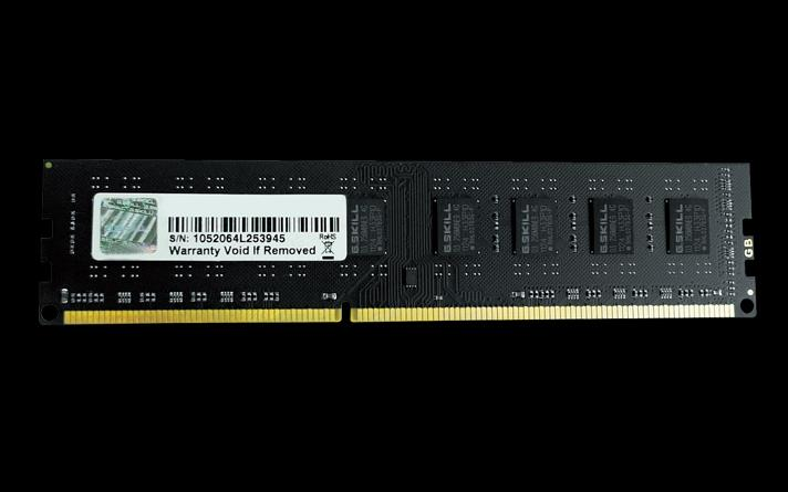 G.Skill DDR3 4GB 1600MHz CL11 1.5V