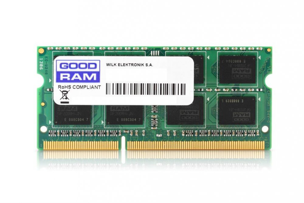 GOODRAM DDR3 4GB 1333MHz CL9 SODIMM 1.5V (512x8)