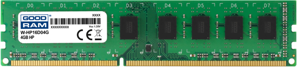 GOODRAM DDR3 DIMM 4GB 1600MHz CL11 HP