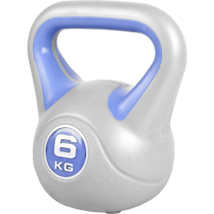 Gorilla Sports Cementový kettle-bell stylish 2-20 kg