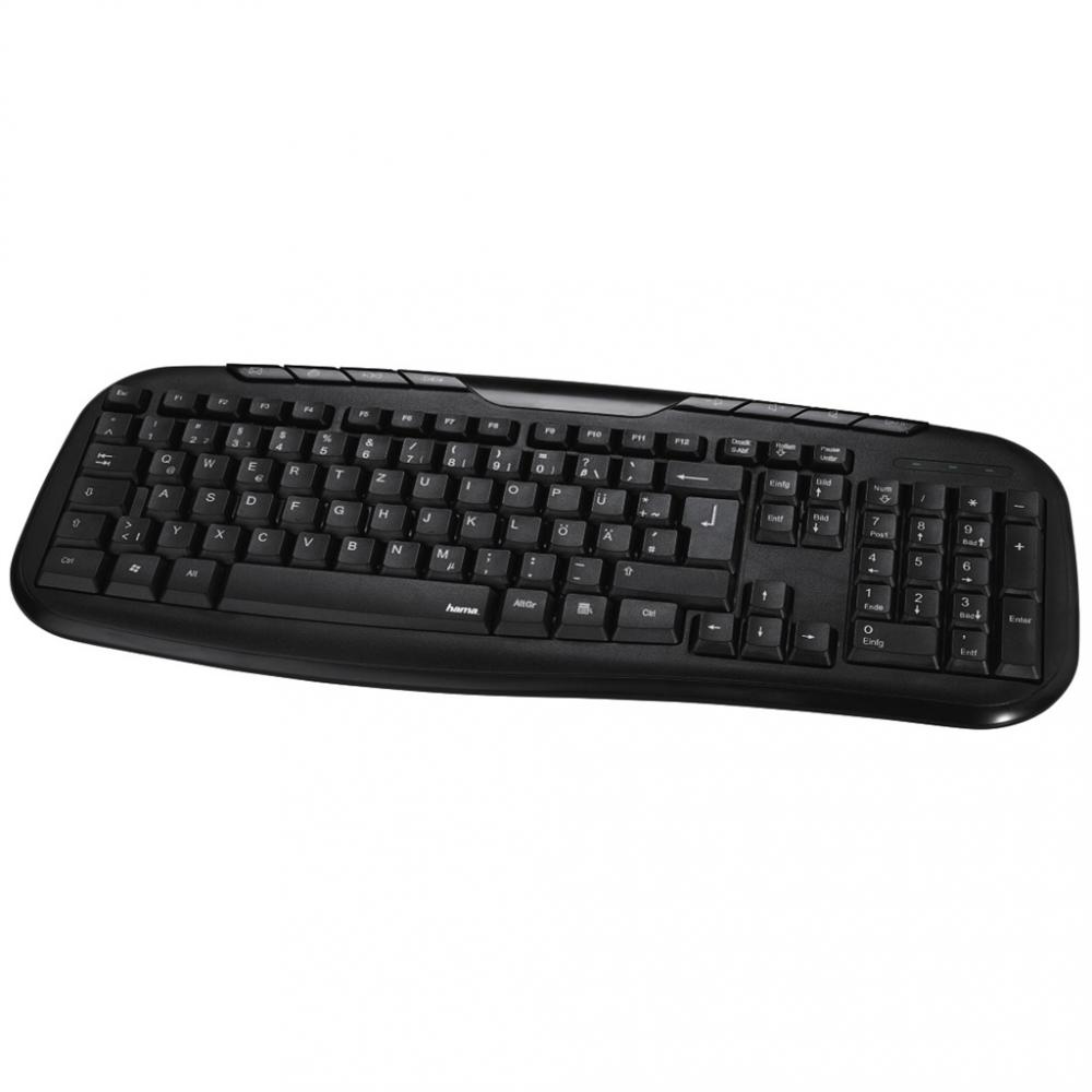 82e8c120c Hama klávesnica Cellino, čierna | Andrea Shop
