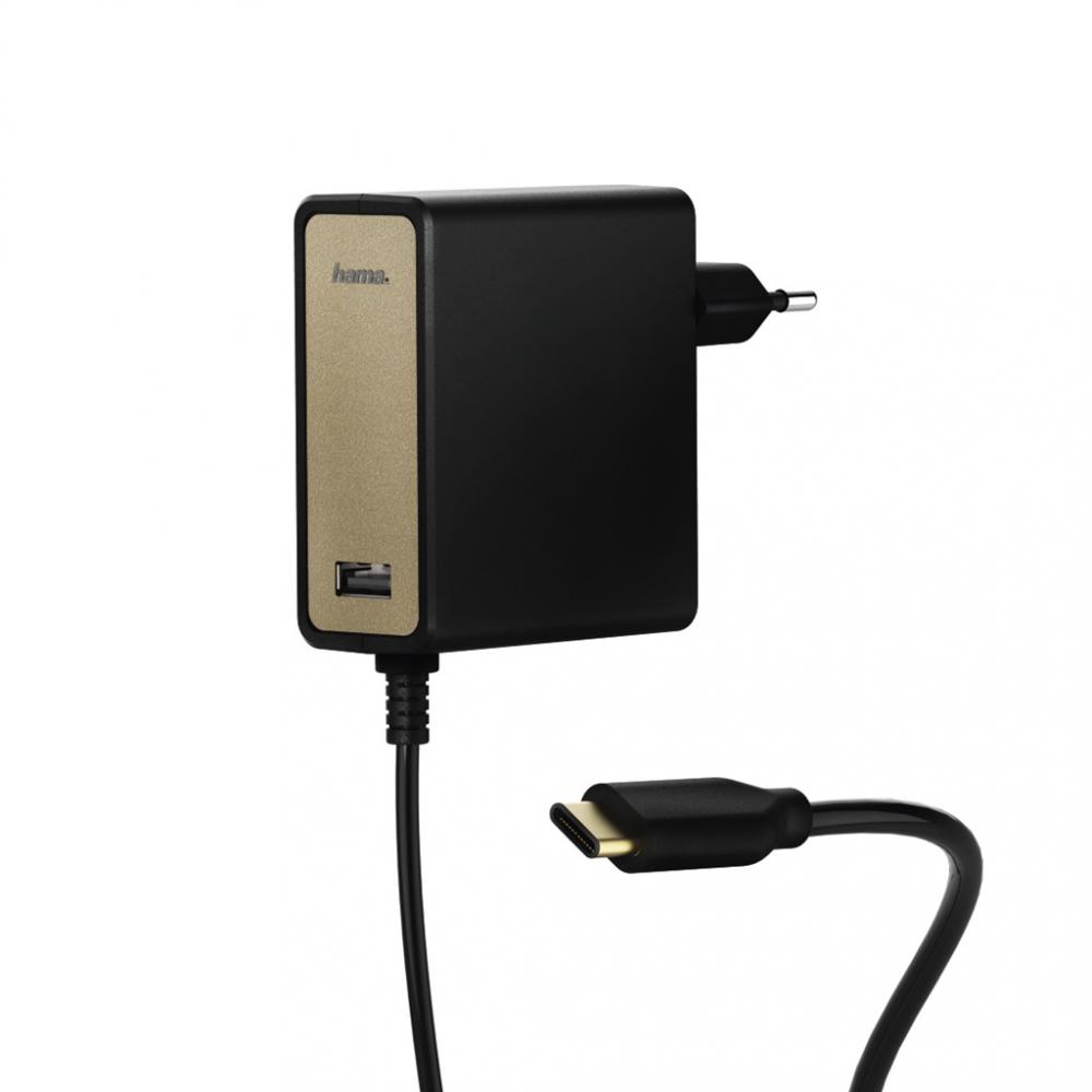 Hama USB-C napájací zdroj, Power Delivery, 5-20 V/60 W