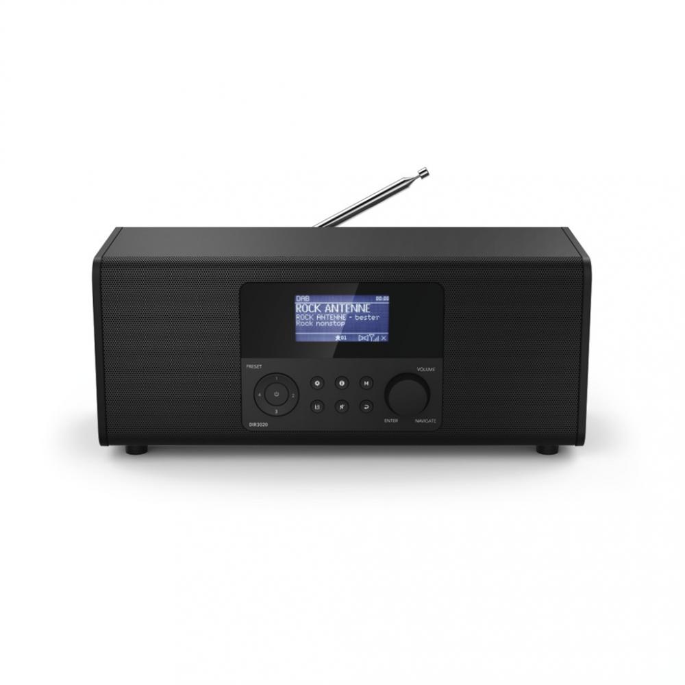Hama digitálne a internetové rádio DIR3020, FM/DAB/DAB+