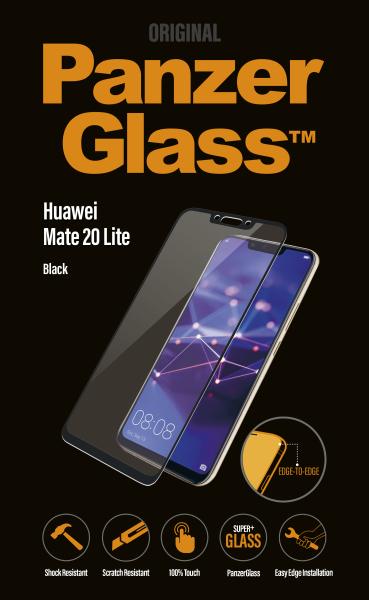 PanzerGlass - Tvrdené sklo pre Huawei Mate 20 Lite, čierna