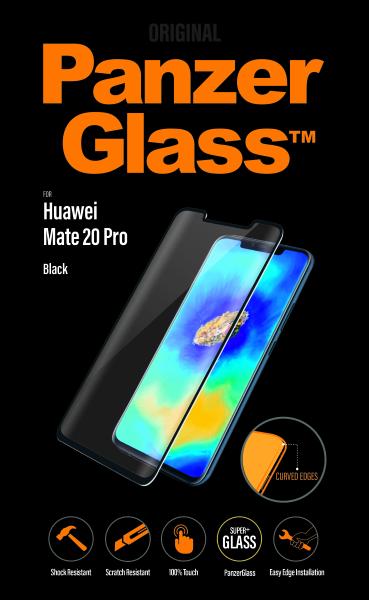 PanzerGlass - Tvrdené sklo Case Friendly pre Huawei Mate 20 Pro, čierna