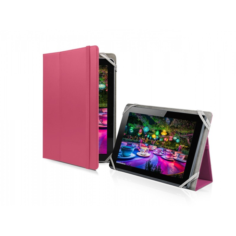 SBS - Puzdro Book Case univerzálne pre tablet do 10'', ružová