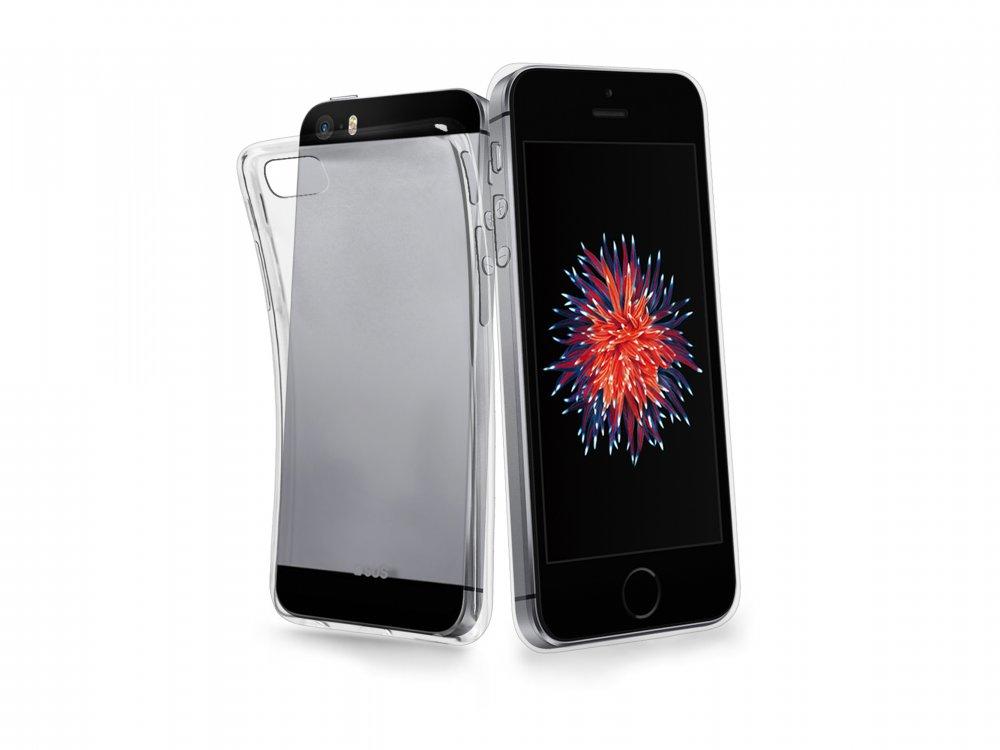 SBS - Puzdro Aero pre Apple iPhone SE/5S/5, transparentná
