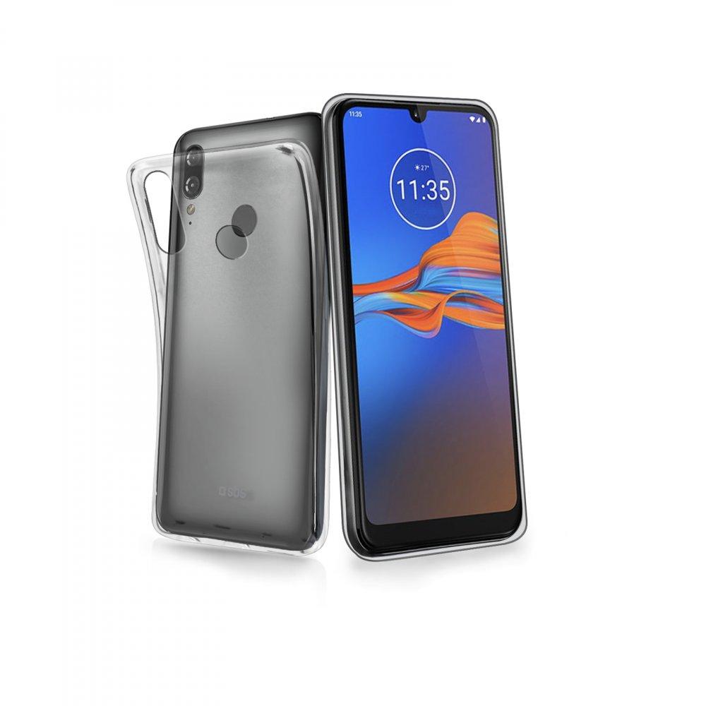 SBS - Puzdro Skinny pre Motorola Moto E6 plus, trasparentná