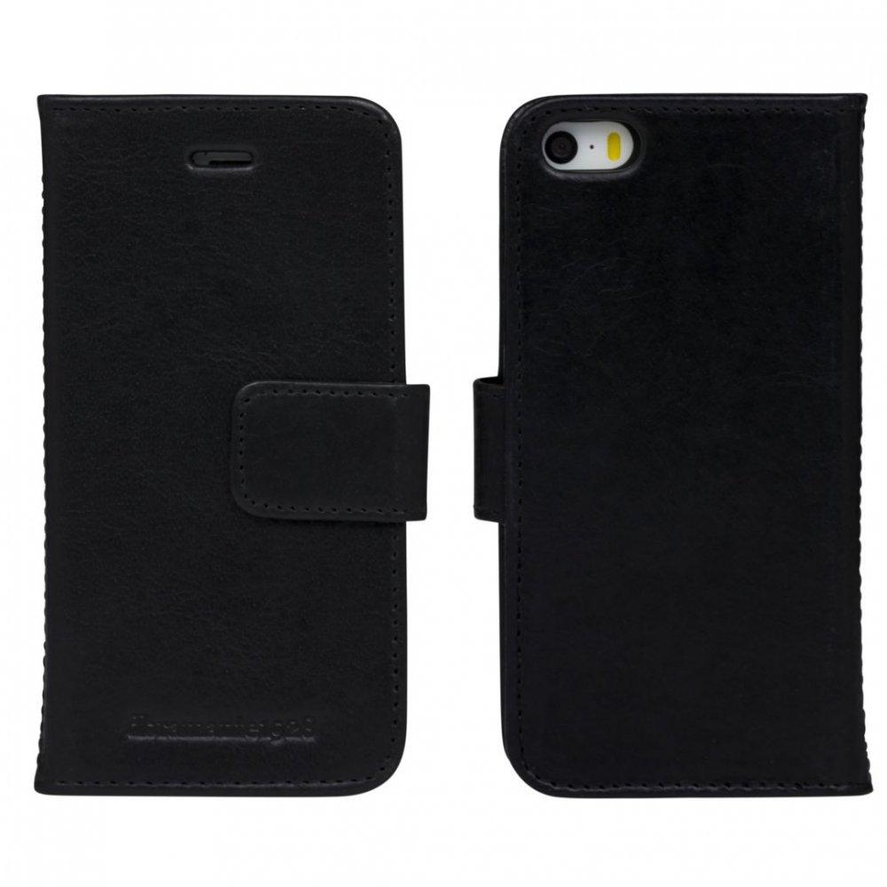 dbramante1928 - Kožené puzdro Lynge pre iPhone SE/5s/5, čierna