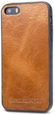 dbramante1928 - Puzdro Billund pre iPhone 5/5s/SE, hnedá
