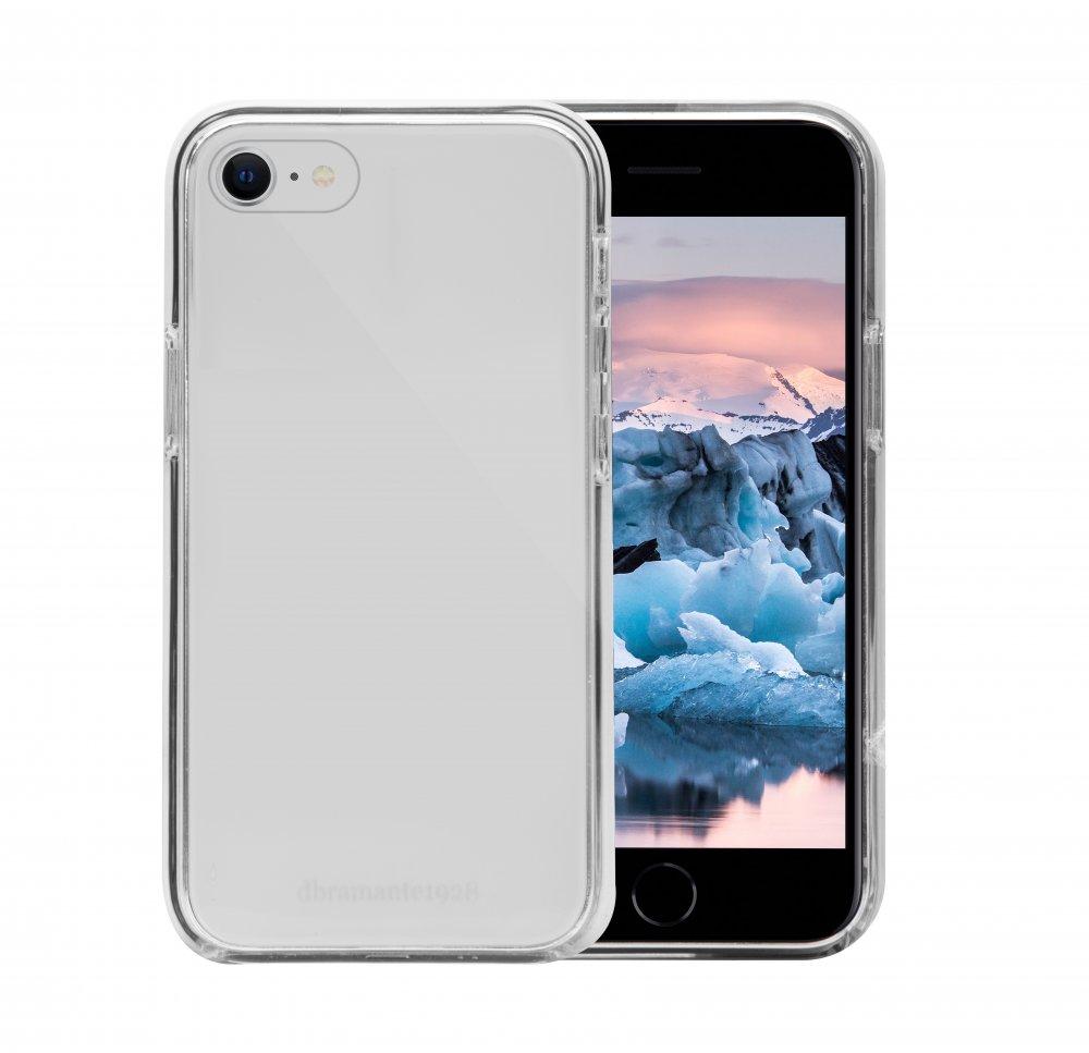 dbramante1928 - Puzdro Iceland pre iPhone SE 2020/8/7/6, transparentná