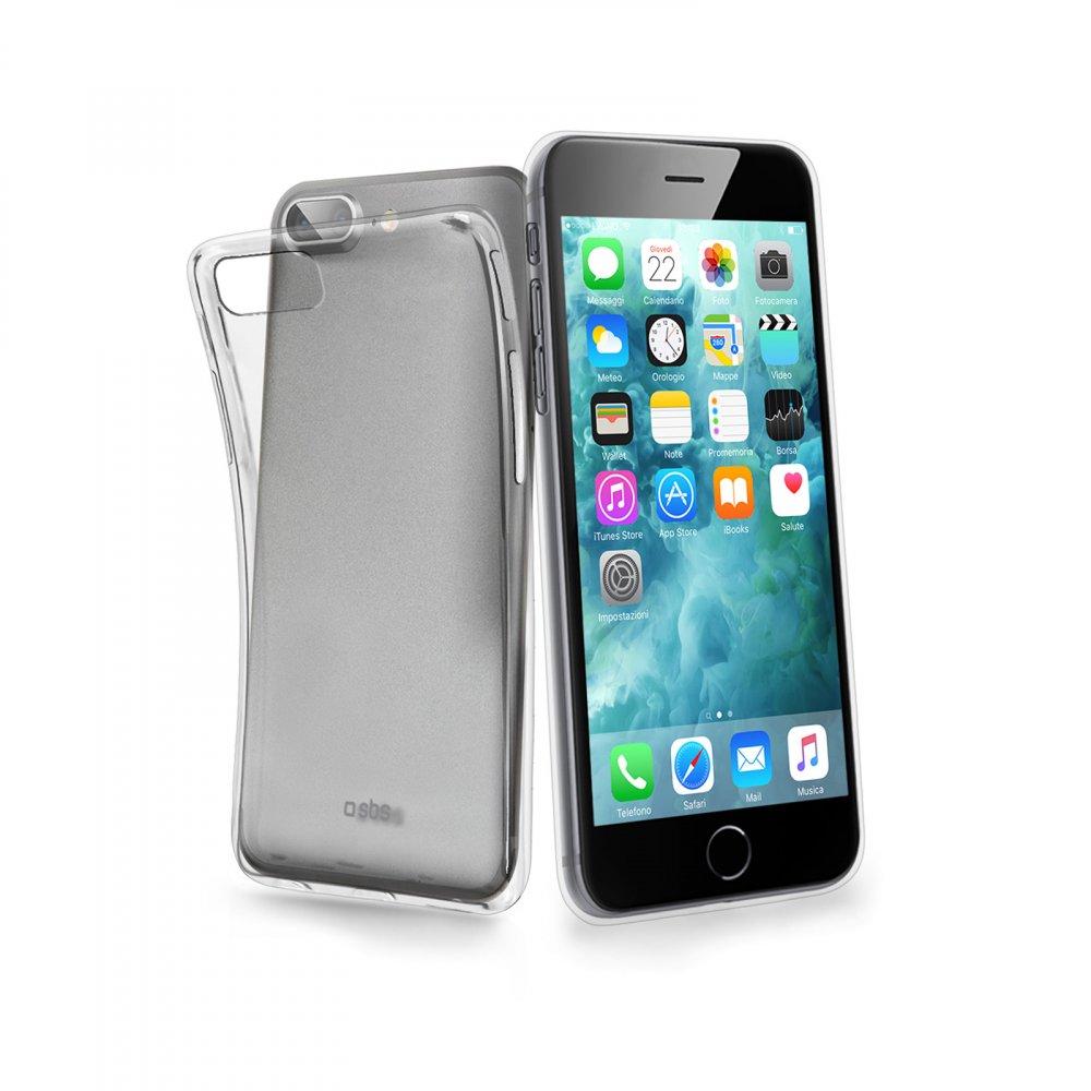 SBS - Puzdro Aero pre iPhone 8/7/6S/6 Plus, transparentná