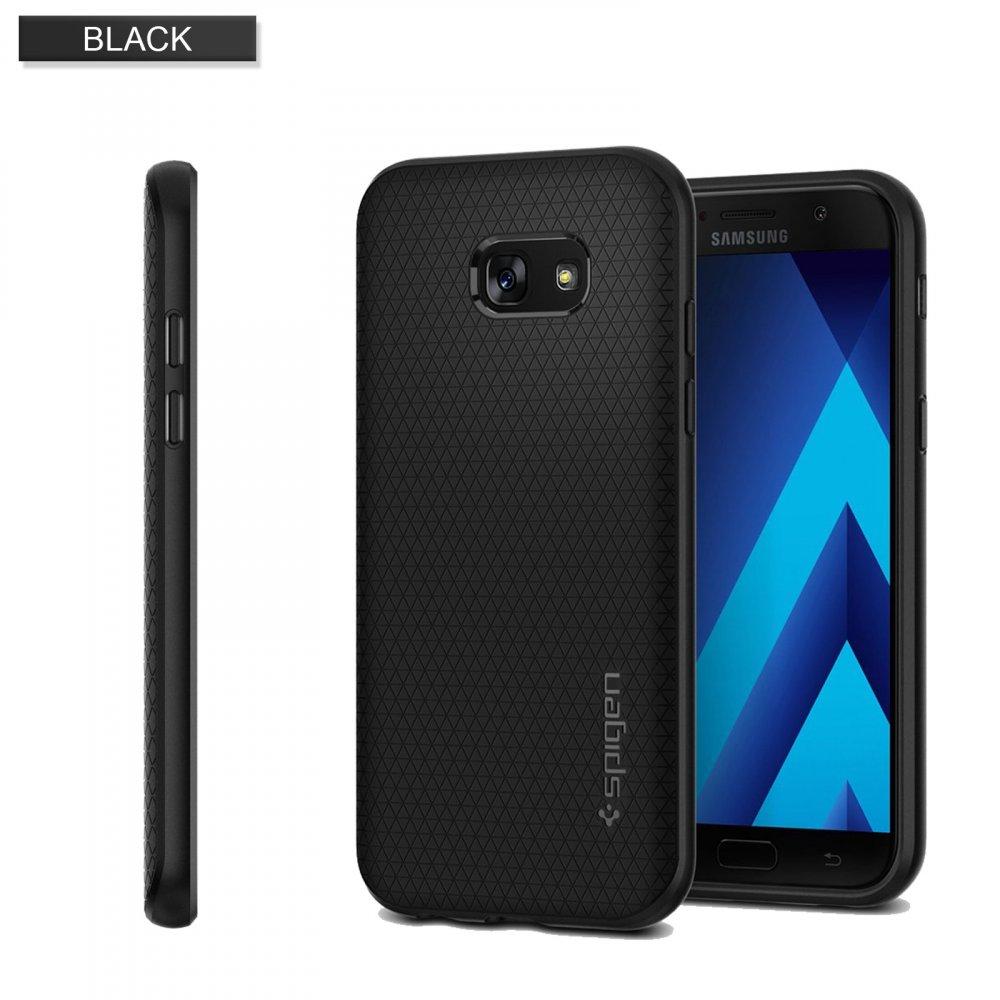 Spigen - Puzdro Liquid Air pre Galaxy A5 2017, čierna