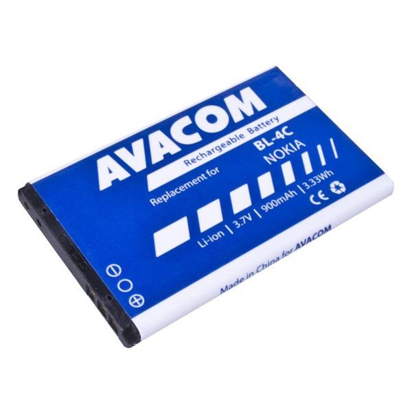 Avacom batéria pre Nokia Li-Ion, 3.7V, GSNO-BL4C-S900A, 900mAh, 3.3Wh