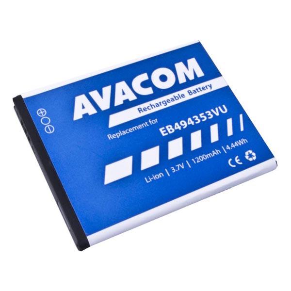 Avacom batéria pre Samsung 5570 Galaxy mini, Li-Ion, 3.7V, GSSA-5570-S1200A, 1200mAh, 4.4Wh