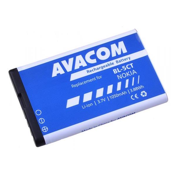 Avacom batéria pre Nokia 6303, 6730, C5, Li-Ion, 3.7V, GSNO-BL5CT-S1050A, 1050mAh, 3.9Wh