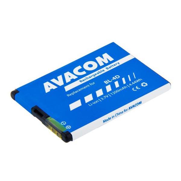 Avacom batéria pre Nokia E7, N8, Li-Ion, 3.7V, GSNO-BL4D-S1200A, 1200mAh, 4.4Wh