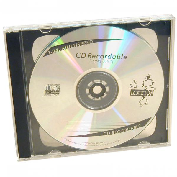 Box na 2 ks CD, priehľadný, čierny tray, 10,4 mm, 200-pack, cena za 1 ks