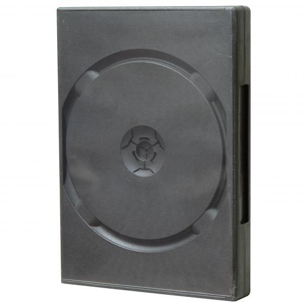 Box na 6 ks DVD, čierny, 24mm