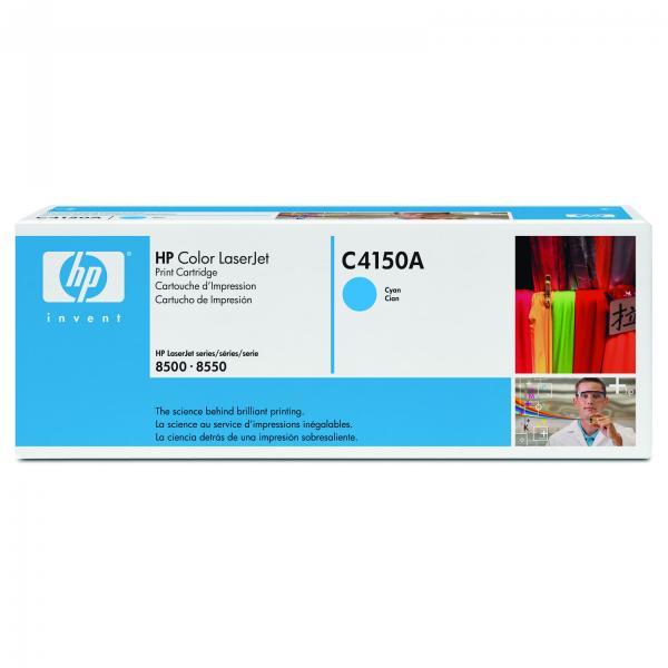 HP originál toner C4150A, cyan, 8500str., HP Color LaserJet 8500, N, DN, 8550, GN, MFP, DN, N, O