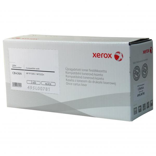 Xerox kompatibil. toner s CB436A, black, 2000str., pre HP LaserJet P1505, M1522n, nf MFP, N