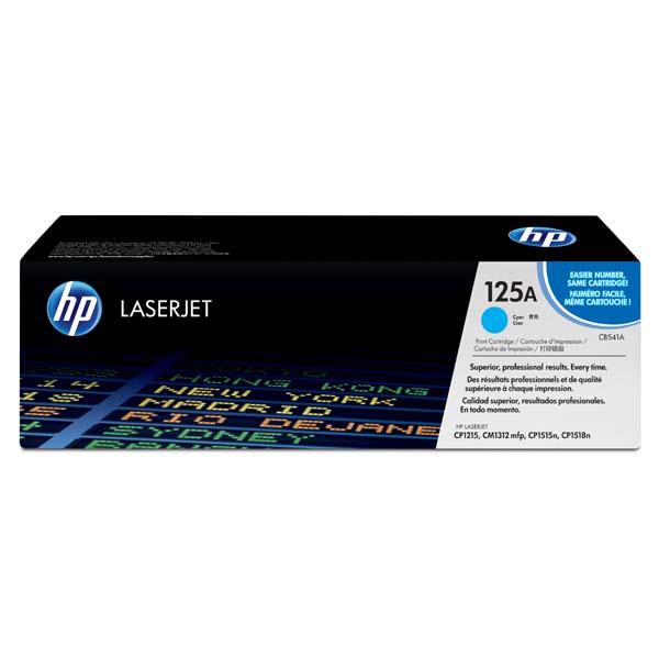 HP originál toner CB541A, cyan, 1400str., HP 125A, HP Color LaserJet CP1215, 1515, 1518, O