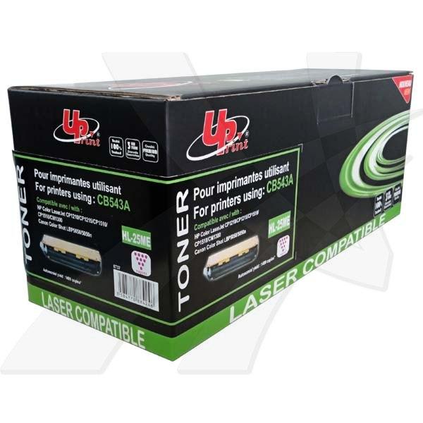 UPrint kompatibil. toner s CB543A, magenta, 1400str., H.125ME, HL-25ME, pre HP Color LaserJet CP1215, 1515, 1518, UPrint