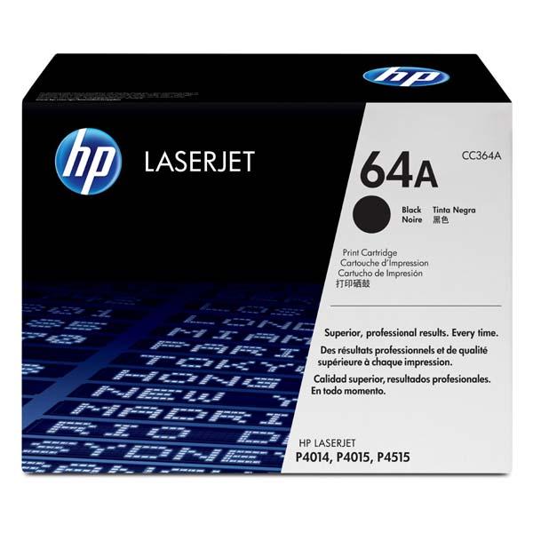 HP originál toner CC364A, black, 10000str., HP 64A, HP LaserJet P4014, 4015, 4515, O