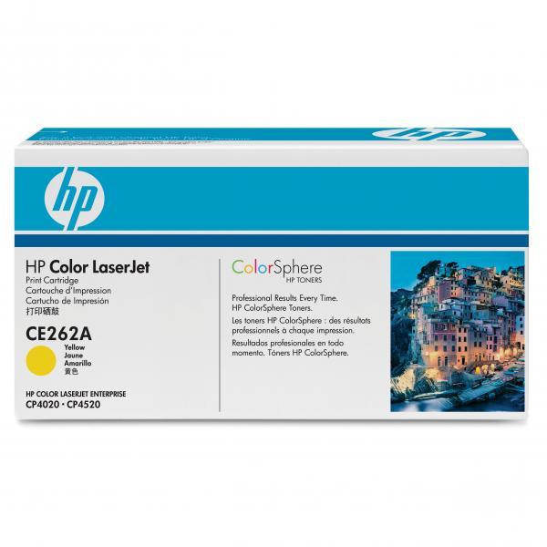 HP originál toner CE262A, yellow, 11000str., HP 648A, HP Color LaserJet CP4025, CP4525, O