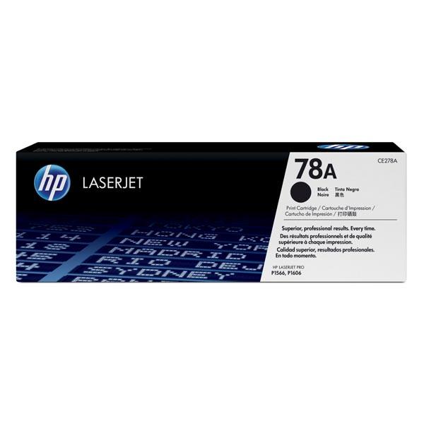 HP originál toner CE278A, black, 2100str., HP 78A, HP LaserJet Pro P1566, M1536, O