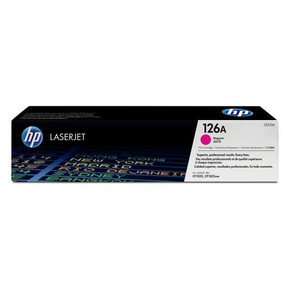 HP originál toner CE313A, magenta, 1000str., HP 126A, HP LaserJet Pro CP1025, 1025nw, MFP M175, O
