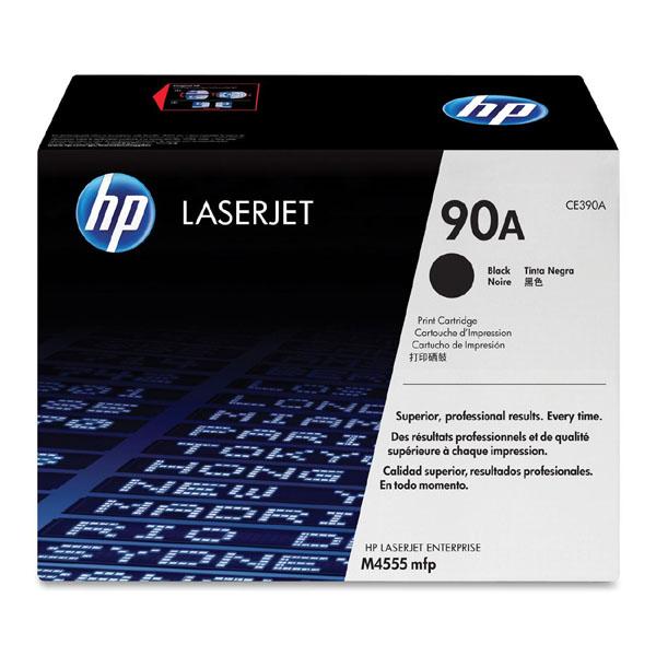 HP originál toner CE390A, black, 10000str., HP 90A, HP LaserJet M4555 MFP, O