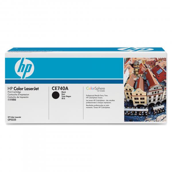 HP originál toner CE740A, black, 7000str., HP 307A, HP Color LaserJet CP5225, O