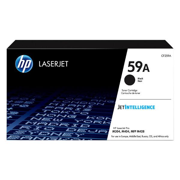 HP originál toner CF259A, black, 3000str., HP 59A, HP LaserJet Pro M404, M304, LaserJet Pro MFP M428, O