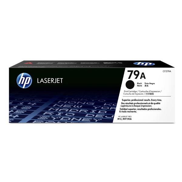 HP originál toner CF279A, black, 1000str., HP 79A, HP LaserJet Pro M12a, M12w, M26a, M26nw, O