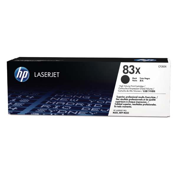 HP originál toner CF283X, black, 2200str., HP 83X, HP LaserJet Pro M201, M225, MFP M225dn, 830g, O