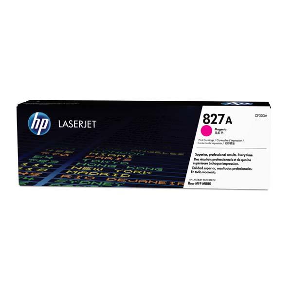 HP originál toner CF303A, magenta, 32000str., HP 827A, HP Color LaserJet MFP M880z, 850g, O