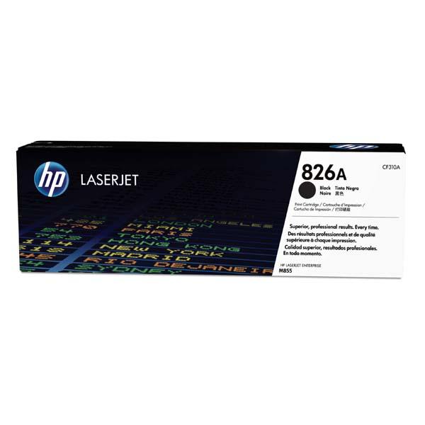 HP originál toner CF310A, black, 29000str., HP 826A, HP Color LaserJet Enterprise M855dn, M855x+, M855x+, O