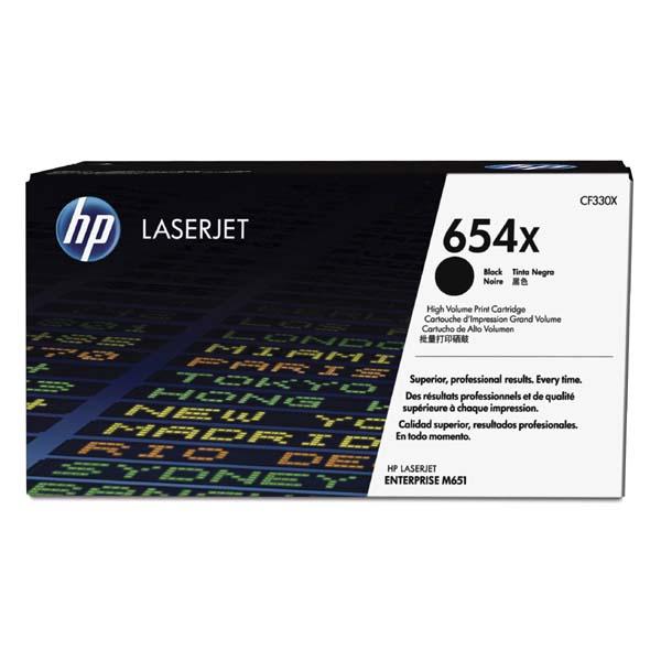 HP originál toner CF330X, black, 20500str., HP 654X, HP Color LaserJet Enterprise Flow M680z, M651dn, M651, O