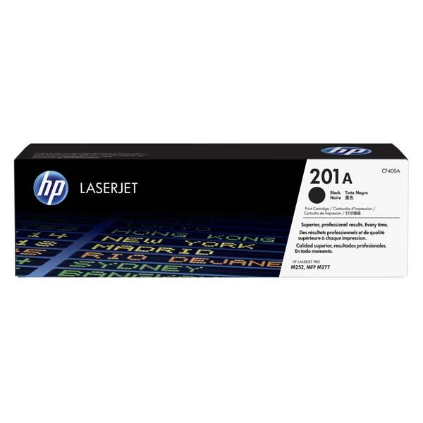 HP originál toner CF400A, black, 1420str., HP 201A, HP Color LaserJet MFP 277, Pro M252, 750g, O