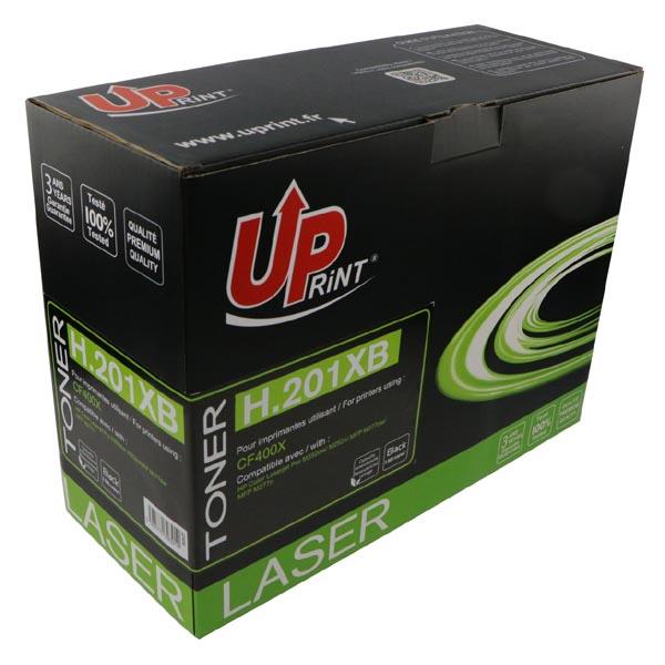 UPrint kompatibil. toner s CF400X, black, 2800str., H.201XB, pre HP Color LaserJet MFP 277, Pro M252, UPrint