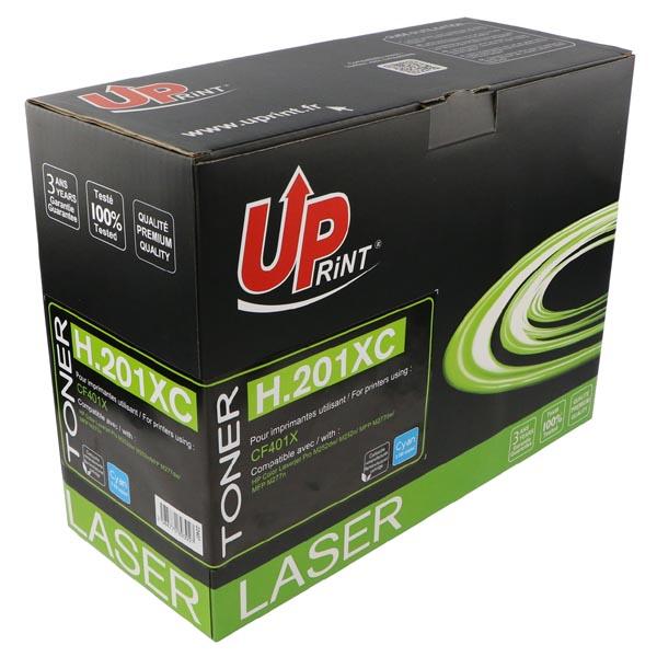UPrint kompatibil. toner s CF401X, cyan, 2300str., H.201XC, pre HP Color LaserJet MFP 277, Pro M252, UPrint