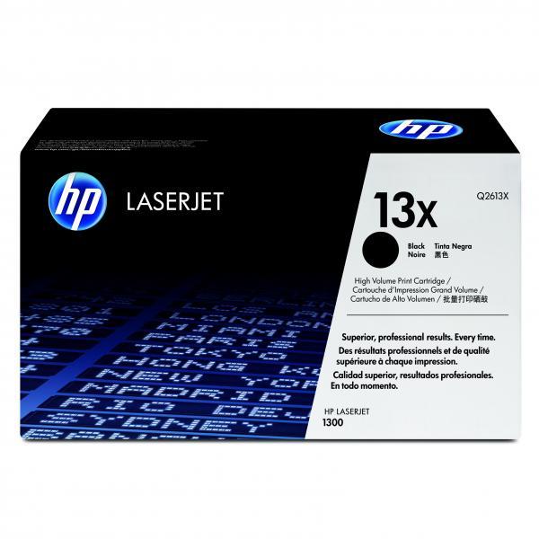 HP originál toner Q2613X, black, 4000str., HP 13X, HP LaserJet 1300, 1300n, O