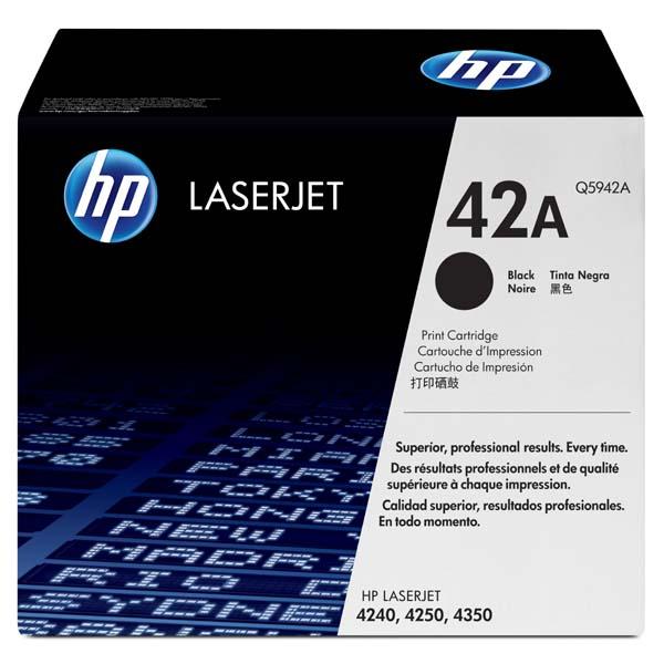 HP originál toner Q5942A, black, 10000str., HP 42A, HP LaserJet 4250, 4350, O