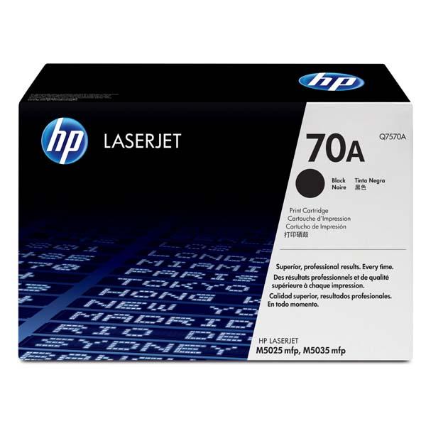 HP originál toner Q7570A, black, 15000str., HP 70A, HP LaserJet M5025mfp, M5035mfp, O