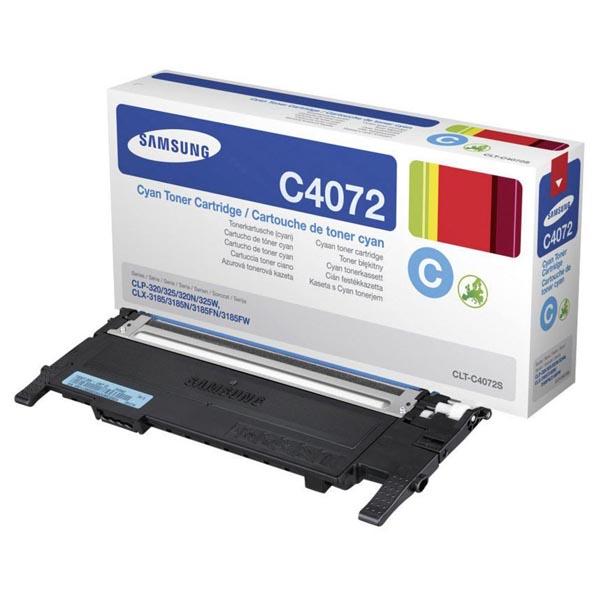 HP originál toner ST994A, CLT-C4072S, cyan, 1000str., C4072S, Samsung CLP-320, 325, CLX-3180, 3185, O