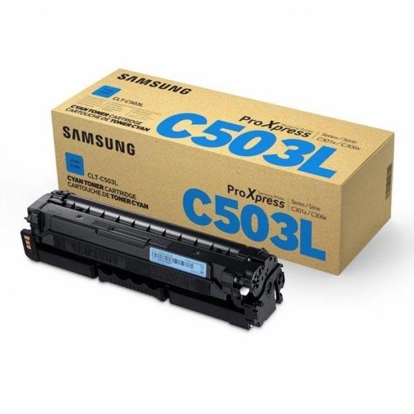 HP originál toner SU014A, CLT-C503L, cyan, 5000str., C503L, high capacity, Samsung ProXpress C3060FR, C3010ND, O