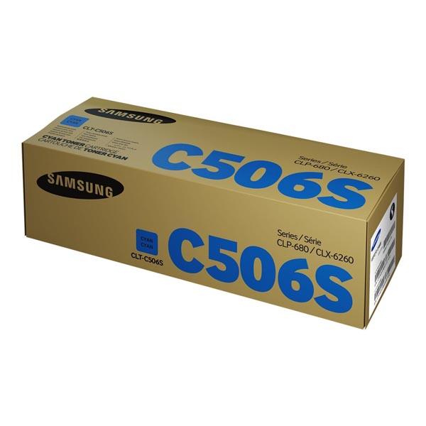 HP originál toner SU047A, CLT-C506S, cyan, 1500str., C506S, Samsung CLP-680DW, CLP-680ND, CLX-6260, O