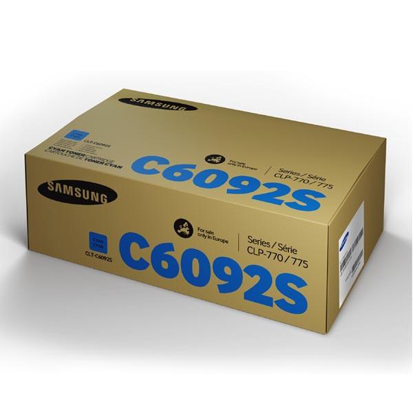 HP originál toner SU082A, CLT-C6092S, cyan, 7000str., C6092S, Samsung CLP-770, CLP-775N, O